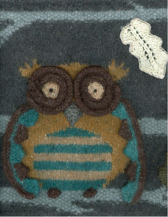 """knitted owl"""