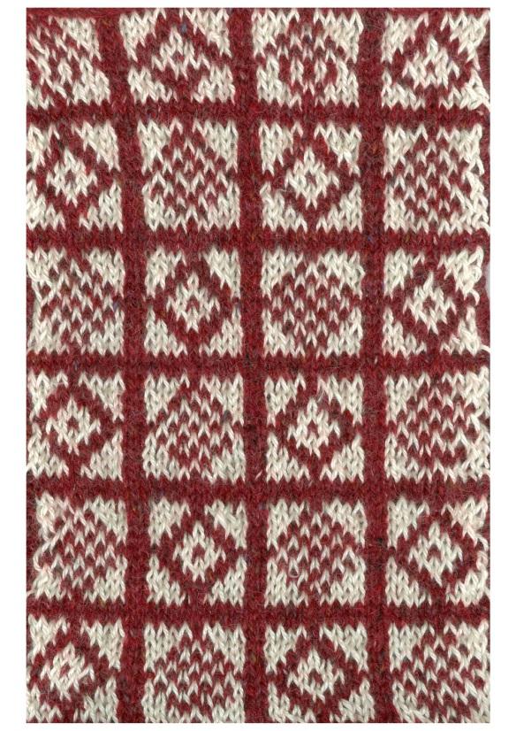 """Sanquhar pattern"""