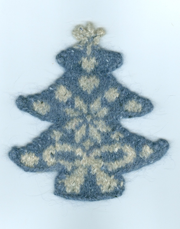 """knitted Christmas decoration"""