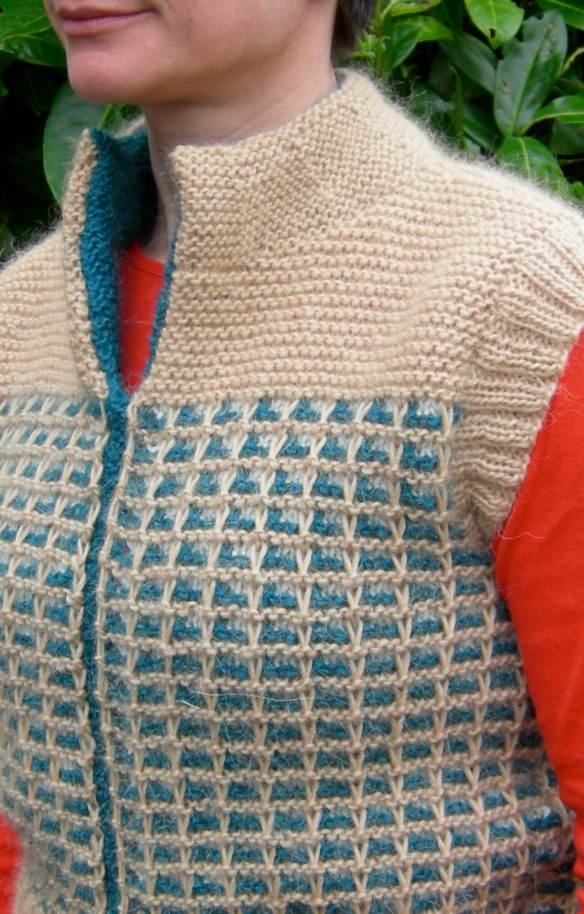 """tank pattern in Rowan Creative Focus Worsted"""
