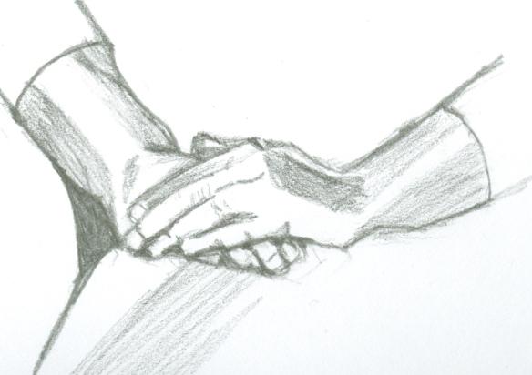 """""""sketch of hands"""""""