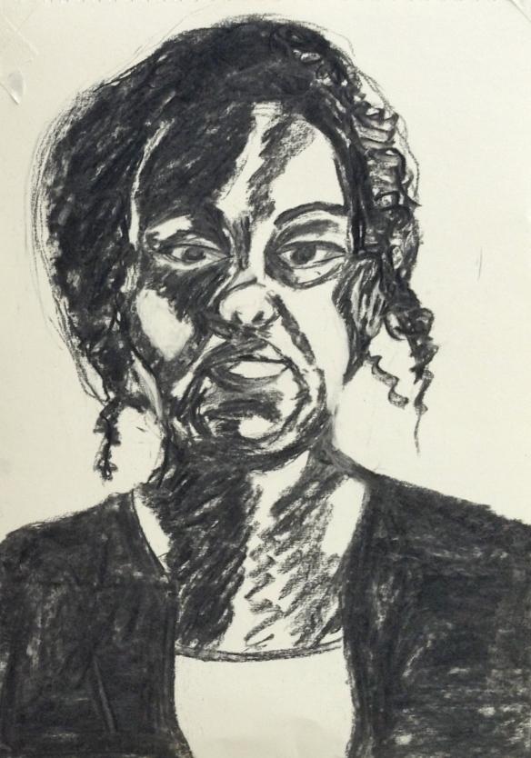 """""""charcoal portrait"""""""