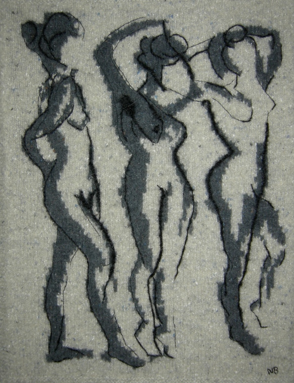 """knitted life drawing"""
