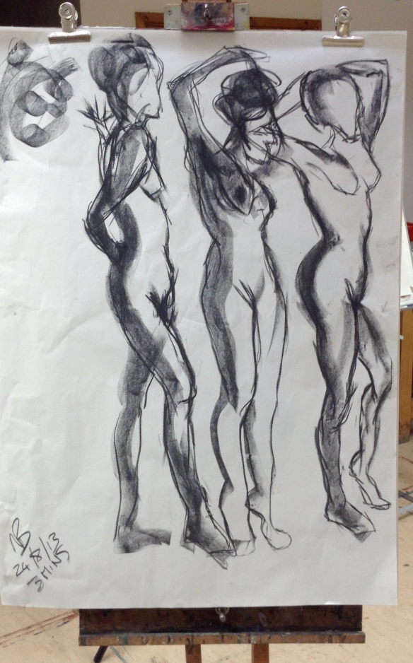 """Life drawing sketch"""