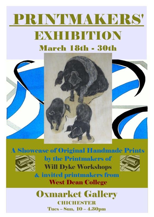 """""""Oxmarket printmakers exhibition"""""""