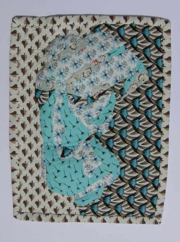 """patterned fabric torso"""
