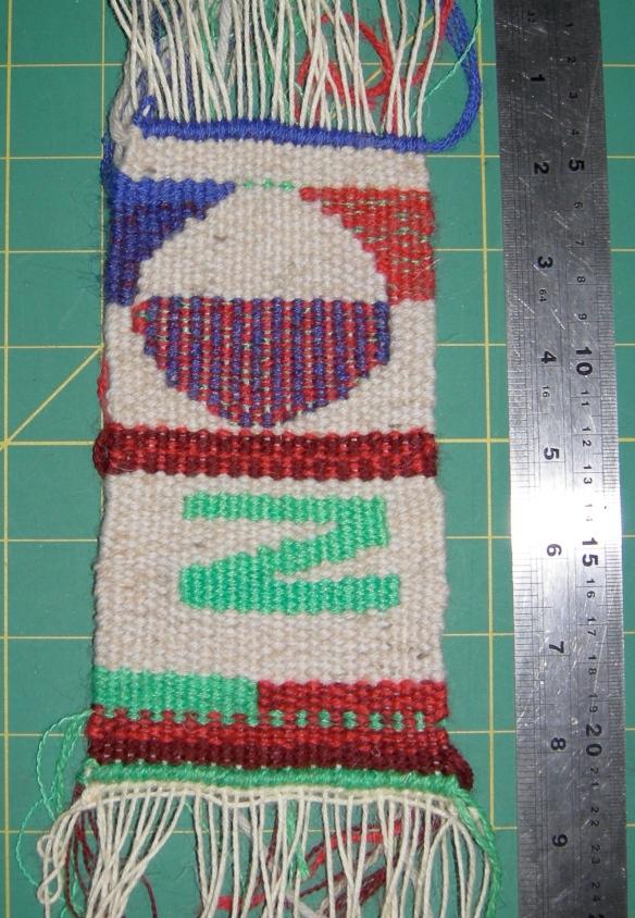 """""""tapestry weaving sample"""""""
