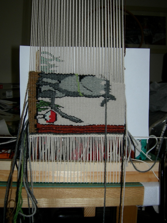 """tapestry weaving """