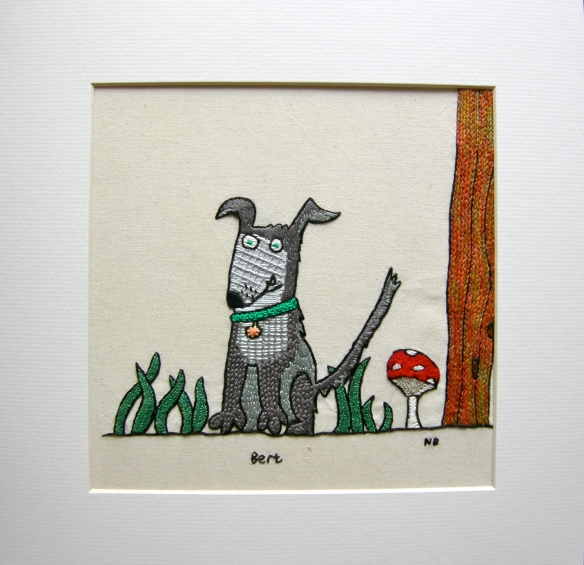 """Doggy Doodle by Nicky Barfoot"""