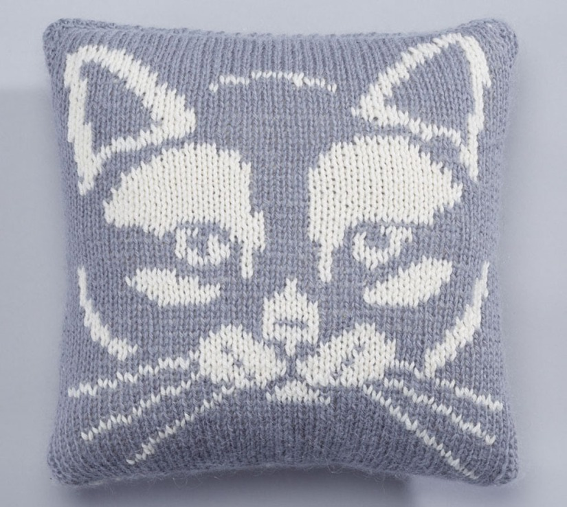 kitty cushion front etsy