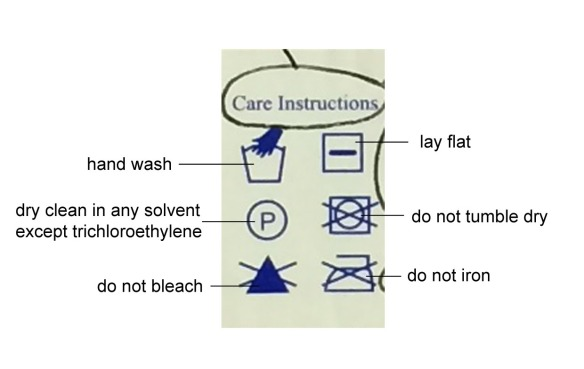 care-instructions