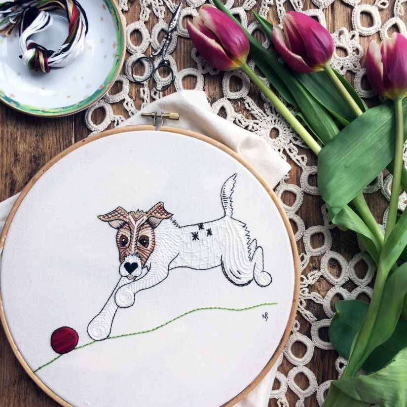 Basil with tulips etsy
