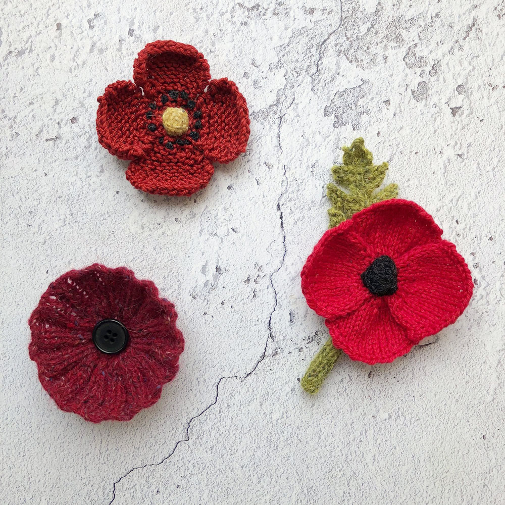 Knitted poppies lower res