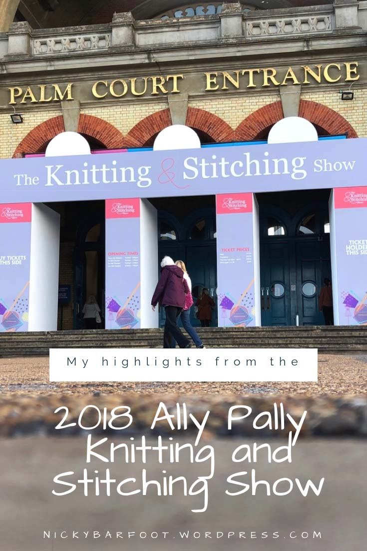 2018 Knitting and Stitching Show copy