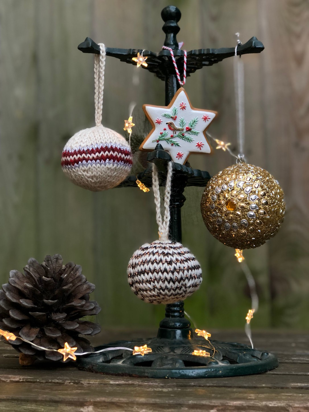 Christmas bauble picture